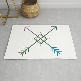Cross Arrows Rug