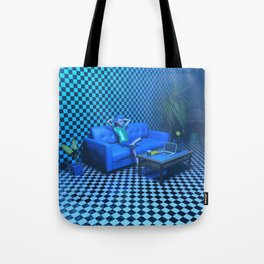 Blue Room Tote Bag