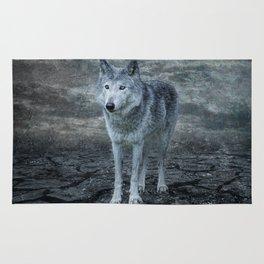le loup gris Rug