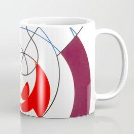 Construction dynamique, Peneration de spirales et diagonales by Sophie Taeuber-Arp Coffee Mug