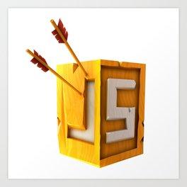 CheckiO JS Art Print