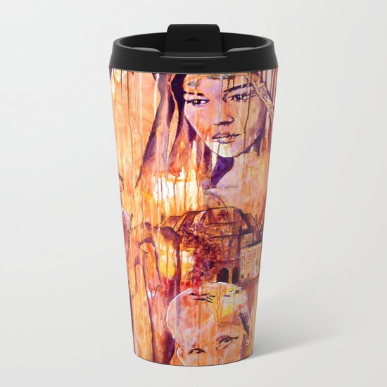 Telse and Magdalena or the question: how free is a Dithmarscher? Metal Travel Mug