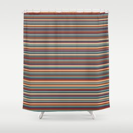 Stripes, Stripes, and More Stripes Shower Curtain