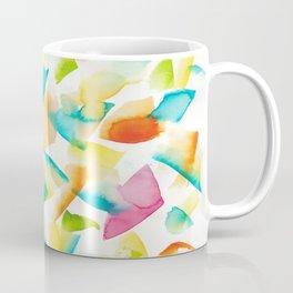 180719 Koh-I-Noor Watercolour Abstract 26| Watercolor Brush Strokes Coffee Mug