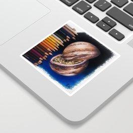 """Jupiter Passionfruit"" Drawing Sticker"