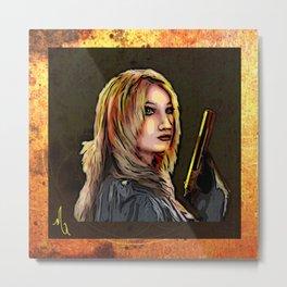 Elizabet - Tykocin Metal Print