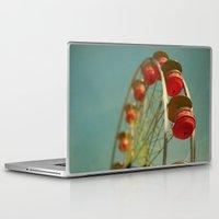 ariana grande Laptop & iPad Skins featuring Grande Roue by Alicia Bock