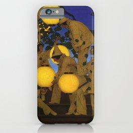 THE LANTERN BEARERS - MAXFIELD PARRISH  iPhone Case