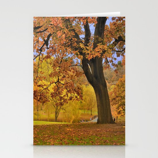 Fall at Larz Anderson Stationery Cards