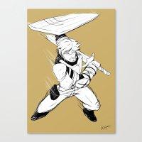 roosterteeth Canvas Prints featuring [RWBY] Jaune Arc by AikiYun