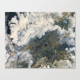 Acrylic Pour 2 Canvas Print