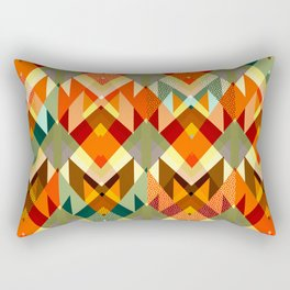 Abstract geometry Rectangular Pillow