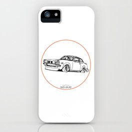 Crazy Car Art 0190 iPhone Case