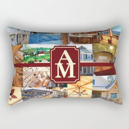 A&M Building Gear Rectangular Pillow