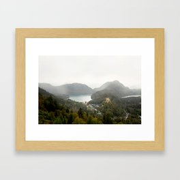 Hohenschwangau Framed Art Print