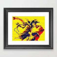 XXI Century Napoleon Framed Art Print