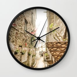 Another Time - English Countryside Wall Clock