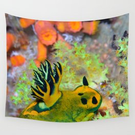Nembrotha Nudibranch Wall Tapestry