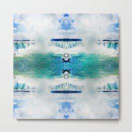 140 - Abstract Niagara Falls Metal Print