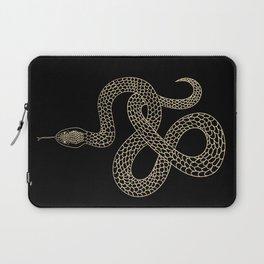 Vintage line snake Laptop Sleeve