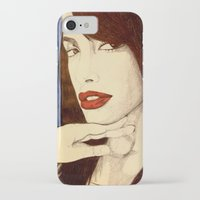 aaliyah iPhone & iPod Cases featuring Aaliyah by DeMoose_Art