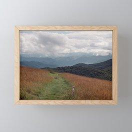 Max Patch Framed Mini Art Print
