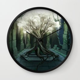 Goddess of Life and Fortune Wall Clock