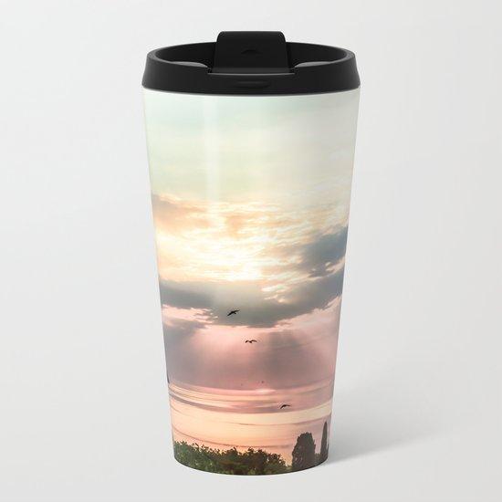 Sunny Metal Travel Mug