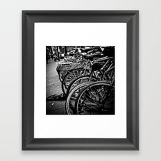 New York Riding Framed Art Print