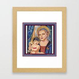 Judy, Judy...Liza Framed Art Print