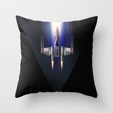 Stay on target Throw Pillow