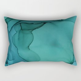 Sea Ink 3 Rectangular Pillow