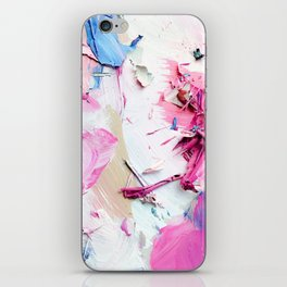 Pinky Swear (Abstract Paint Photograph) iPhone Skin