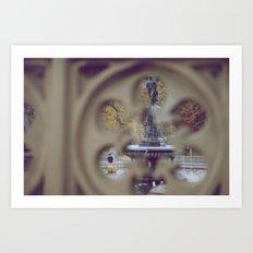 Angel In The Water Art Print