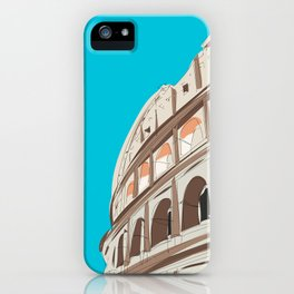 Rome, Italy Colosseum iPhone Case