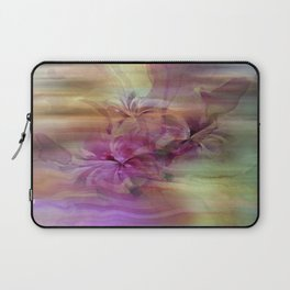 Sunset Painterly Floral Abstract Laptop Sleeve
