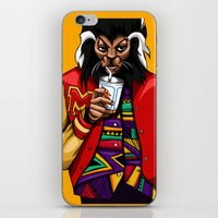 mcfreshcreates iPhone & iPod Skins featuring Too Chill to Thrill by McfreshCreates