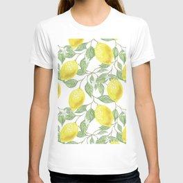 Lemon Tree Pattern T-shirt
