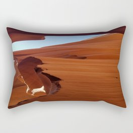 Antelope Canyon #5 Rectangular Pillow