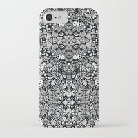 zentangle iPhone & iPod Cases featuring Zentangle  by Zenspire Designs