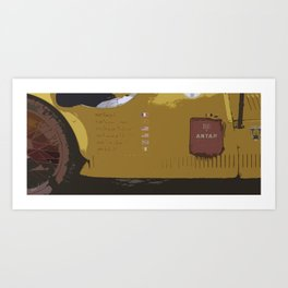 Mille Miglia No.36 Art Print