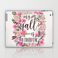 My Y'all is Authentic – Vintage Palette Laptop & iPad Skin