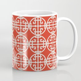 Asian screen - Red Coffee Mug