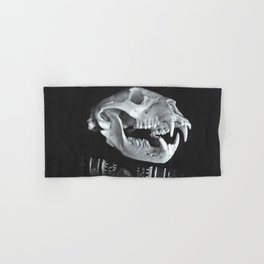 Bear Skull Still Life Hand & Bath Towel