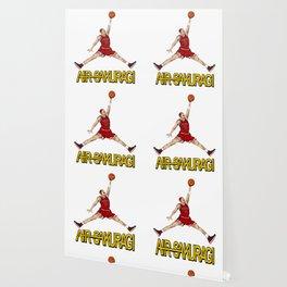 """Air Sakuragi"" Slam Dunk Anime Creative Design Wallpaper"