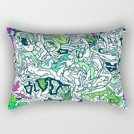 Kamasutra LOVE - Forest Green Rectangular Pillow