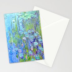 Water Lilies monet : Nympheas Stationery Cards
