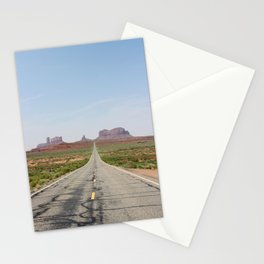 Monument Valley Veritcal Stationery Cards