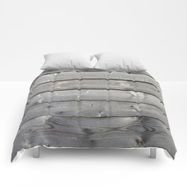 old wooden planks background Comforters