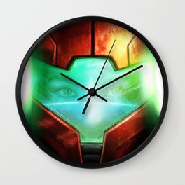 Metroid Wall Clock
